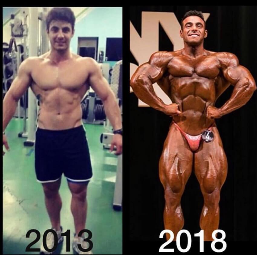 Rafael Brandao antes y despues