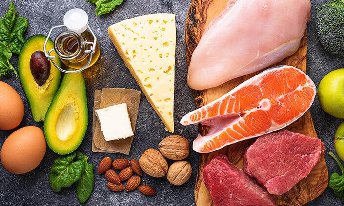 dieta keto alimentos que puedes comer