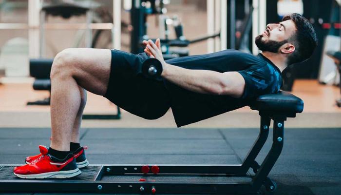 elevacion caderas hombres gluteos fitness