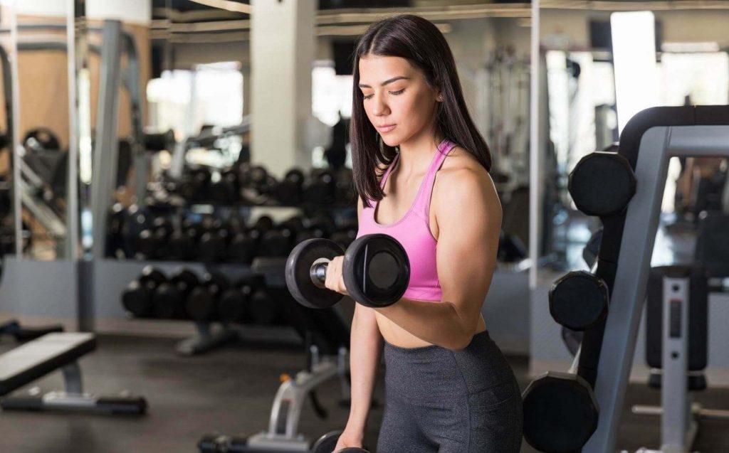 masa muscular mujeres fitness lifestyle