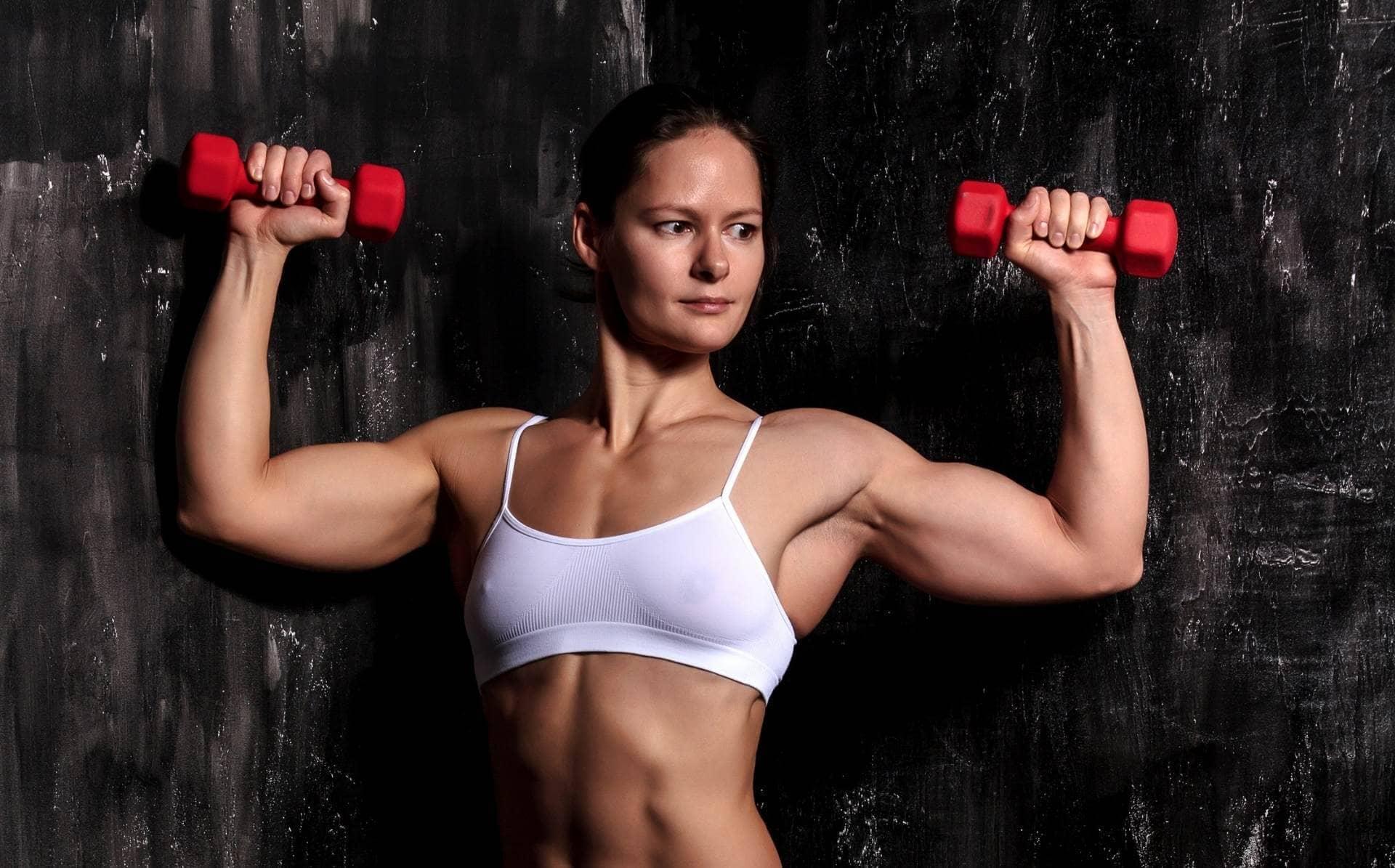 Masa Muscular Mujeres Fitness